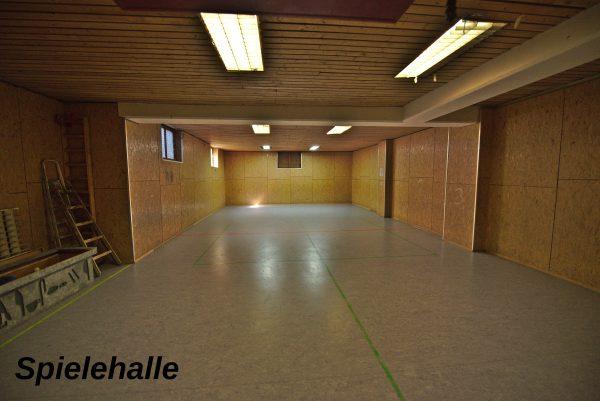 Spielehalle Pfadfinderheim
